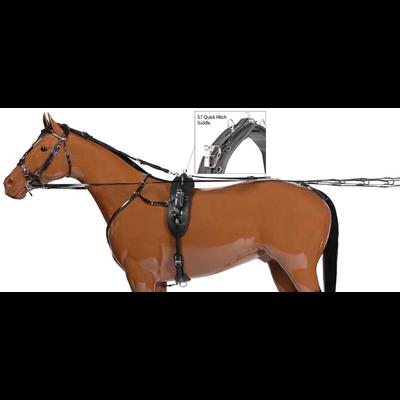 Harnais complet Trotteur Quick Hitch H307 Zilco