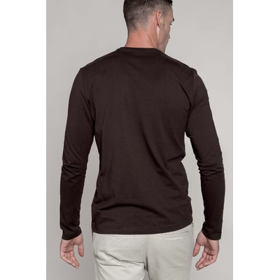Tee-shirt à manches longues Col Rond Homme1