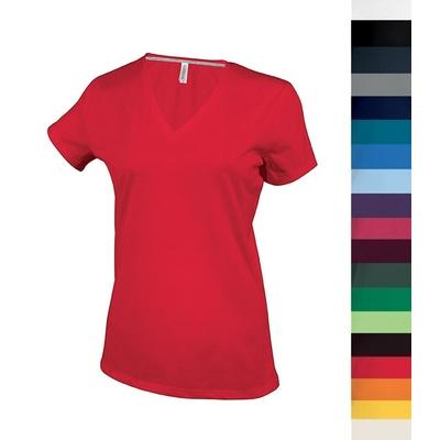Tee-shirt Col V Femme