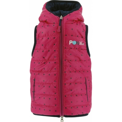 Gilet matelassé réversible Pony Love EQUI-KIDS