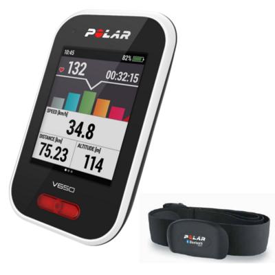 Cardio GPS V650 avec émetteur cardiaque H7 bluetooth POLAR