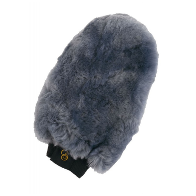 Gant de pansage CSO mouton véritable