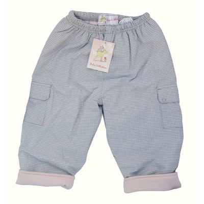 Pantalon coton carreaux Bébé EQUI-THÈME