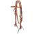 Bridon Sunburst Tooled Weaver Leather