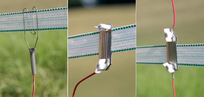 Connecter l'électrificateur à la clôture1