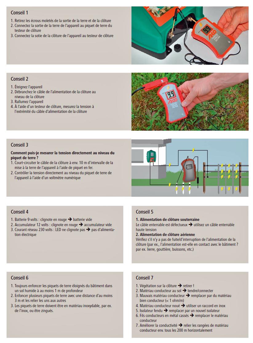 Vérifier le fonctionnement de la clôture2