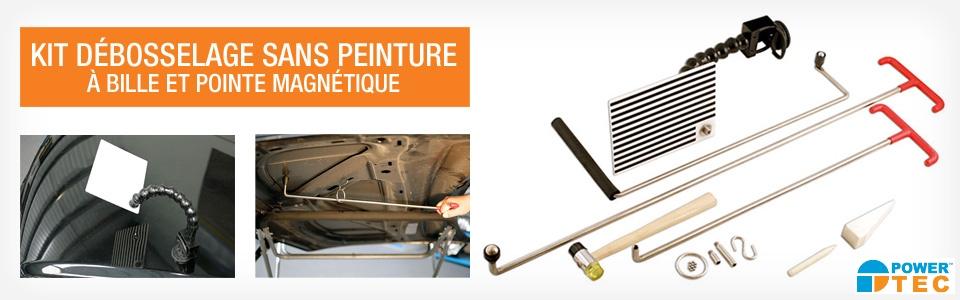 Un kit basique de training DSP pratique et durable avec barres haute qualité et bille traçante