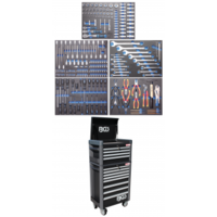 Servante d'atelier BGS Technic Pro Standard Maxi avec 263 outils