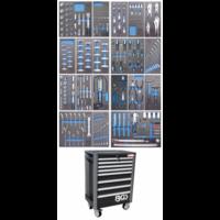 Servante d'atelier BGS Technic Pro Exclusive avec 259 outils
