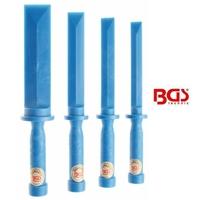 4 burins plastique grattoir multi fonctions