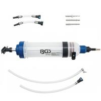 Pompe seringue de vidange carburant avec adaptateurs 1500ml