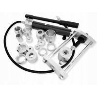 Extracteur de rotules hydraulique pour utilitaires avec 14 adaptateurs