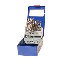 Coffret 26 forets à métaux HSS 1 à 13mm