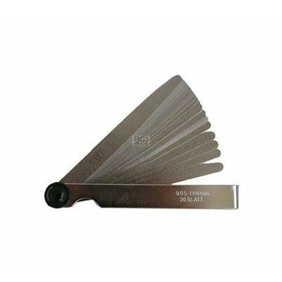 3083 jauge d'épaisseur 20 lames 0.05 à 1mm