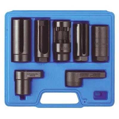 douilles pour injecteurs et sondes cabl es lambda 7pcs cliquets et douilles douilles sp ciales. Black Bedroom Furniture Sets. Home Design Ideas