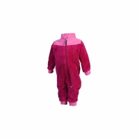 Karim pile suit rose
