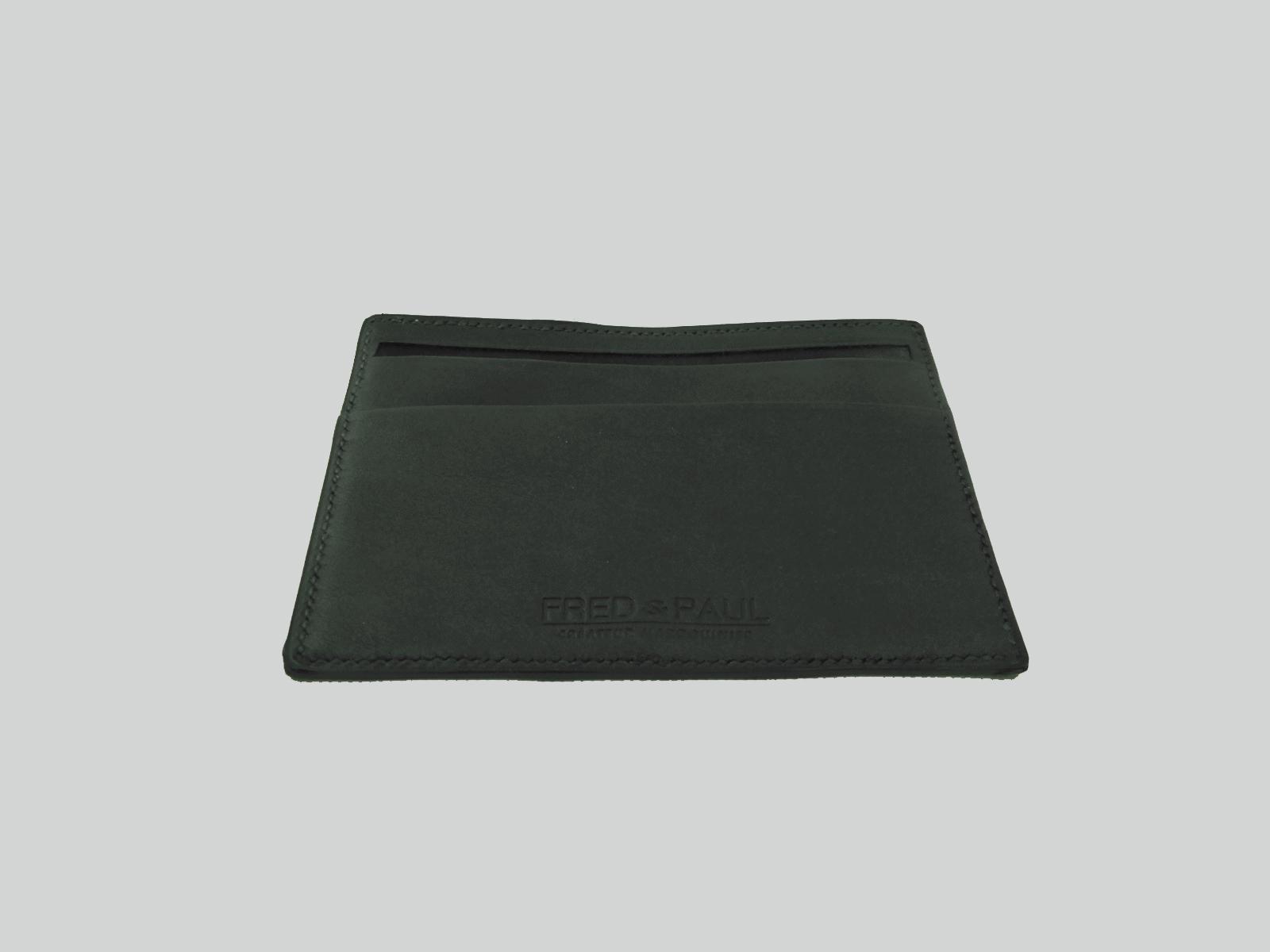 CAMBAY, porte-cartes en veau sweet noir