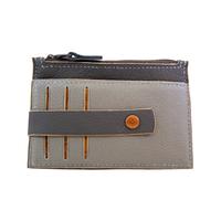 TRIPURA porte monnaie - cartes en cuir de veau foulonné bicolore