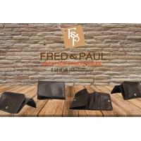 SCOTIA portemonnaie en cuir de veau marron