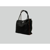 MANASLU XL  sac cabas en cuir de veau chocolat porté main ou épaule