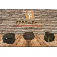 PUMORI XS  sac en cuir de veau marron vintage, porté épaule ou croisé