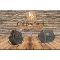 PUMORI S sac en cuir de veau vert façon reptile, porté épaule ou croisé