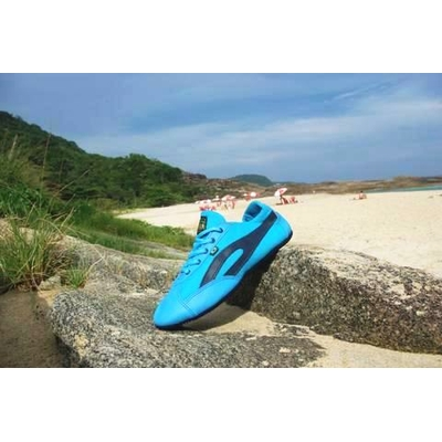Slim turquoise / bleu marine