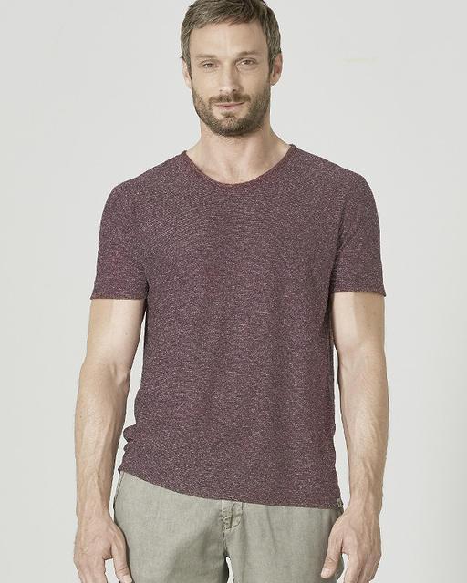 t shirt manches courtes col v coton bio et chanvre boutique homme ecoline. Black Bedroom Furniture Sets. Home Design Ideas