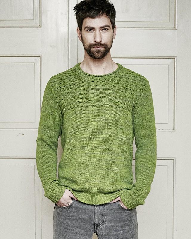 pull jonas tricot pais chanvre et coton bio boutique homme ecoline. Black Bedroom Furniture Sets. Home Design Ideas