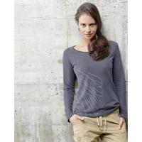 """T-shirt manches longues imprimé """"Alia"""" - chanvre et coton bio"""