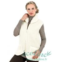 Gilet sans manches unisexe - Pure laine mérinos