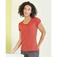 T-shirt avec petit imprimé - chanvre et coton bio