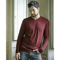 T-shirt col V - chanvre et coton bio