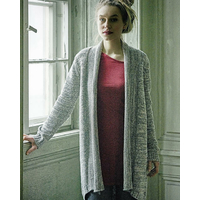 "Gilet long ""Theresa"" - chanvre et coton bio"
