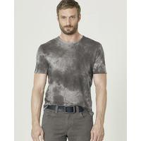 T-shirt manches courtes effet Batik - chanvre et coton bio