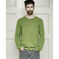 """Pull """"Jonas"""" tricot épais - chanvre et coton bio"""