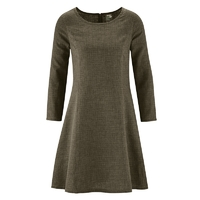 """Robe-tunique d'hiver """"Clarisse"""" - chanvre et coton bio"""