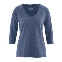 T-shirt raglan manches 3/4 - chanvre et coton bio
