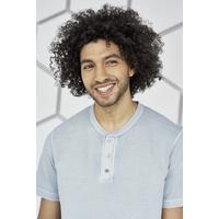 T-shirt col mao - chanvre et coton bio