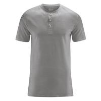 """T-shirt col mao """"Henley"""" - coton bio et chanvre"""