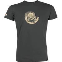 """T-shirt manches courtes avec imprimé """"Fossile"""" - coton biologique"""
