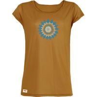 """T-shirt manches courtes avec imprimé """"Fleur - Mandala"""" - Pur bois d'eucalyptus"""