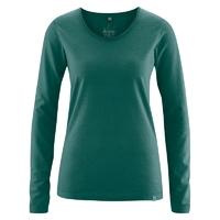 """T-shirt manches longues """"Lene"""" - chanvre et coton bio"""
