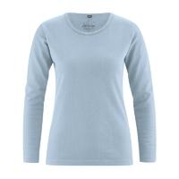 """T-shirt manches longues """"Naomi"""" - chanvre et coton bio"""