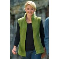 Gilet femme sans manches - 100% laine mérinos