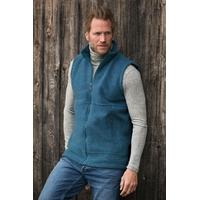 Gilet homme sans manches - 100% laine mérinos