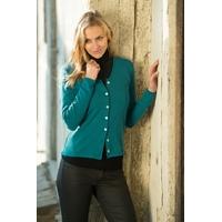 Cardigan manches longues - 100% laine mérinos