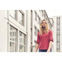 """T-shirt mi-manches cloche """"887"""" - coton bio et chanvre"""