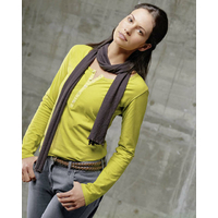 """T-shirt manches longues """"Pamela"""" - chanvre et coton bio"""