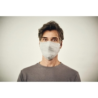 Lot de 10 masques écologiques pour adultes - chanvre et coton bio